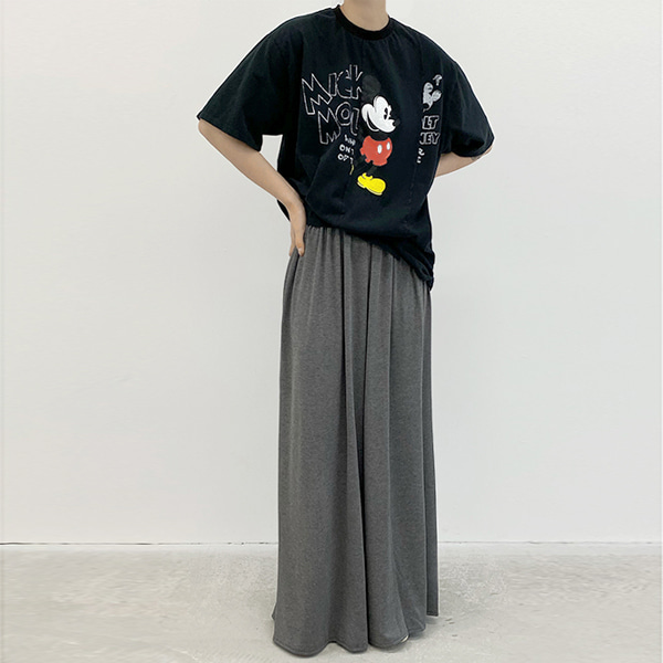 wide pants (gray)