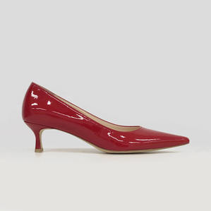 kitten heel (red)