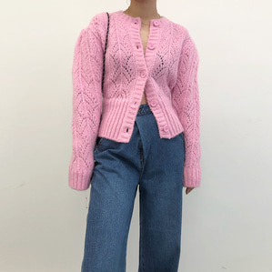 puff cardigan (2color)
