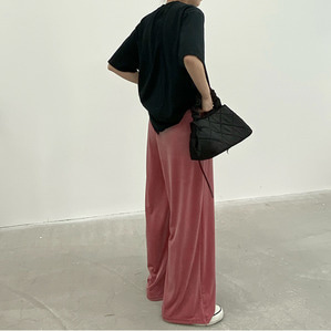 velvet banding pant (3color)