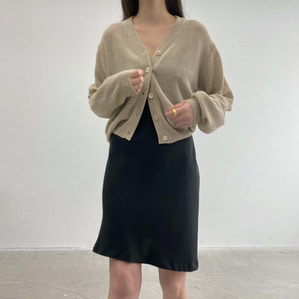 입고지연 linen cardigan (2color)
